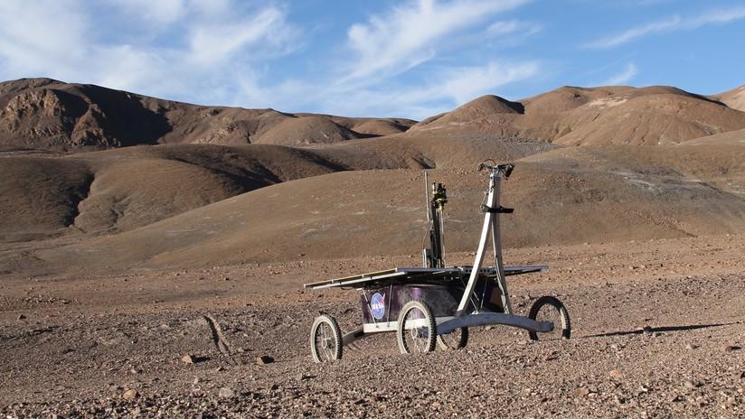 Un 'rover' capaz de detectar vida halla bacterias antes desconocidas en el desierto de Atacama