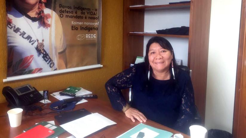 Joênia Wapichana: La primera diputada indígena de Brasil