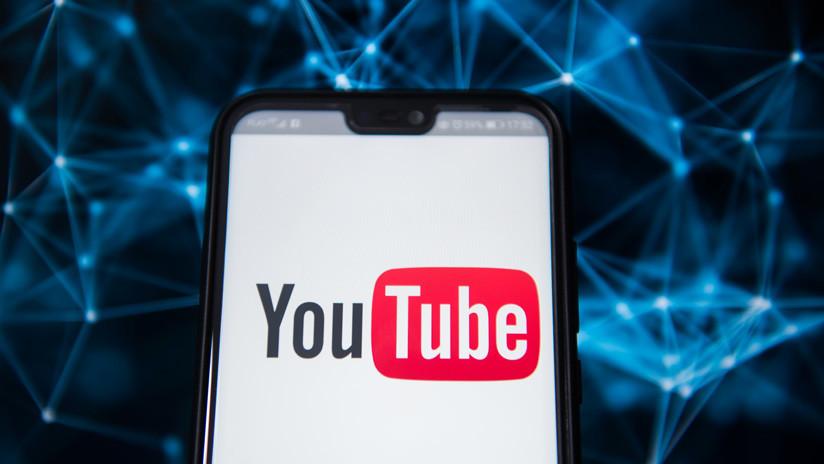 Se registra un fallo en el funcionamiento de YouTube a nivel mundial