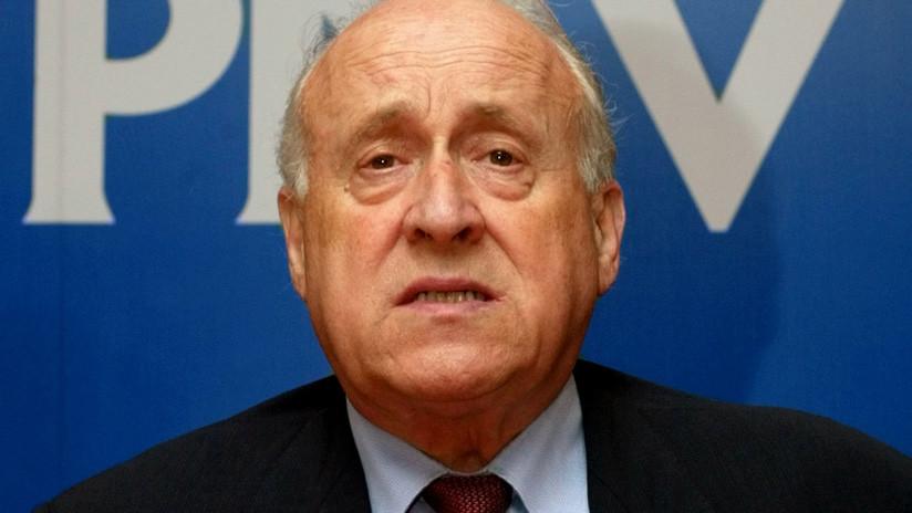Fallece Xabier Arzalluz, histórico dirigente del Partido Nacionalista Vasco