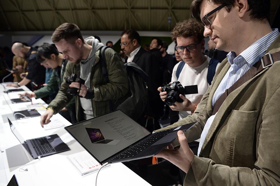 """Resultado de imagen para Huawei presenta dos """"mejores alternativas"""" al MacBook Pro"""