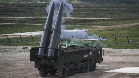 El sistema ruso de misiles tácticos Iskander-M