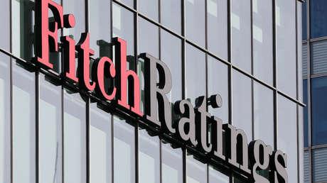 Logo de Fitch Ratings en sus oficinas en Londres, Reino Unido, 3 de marzo de 2016.