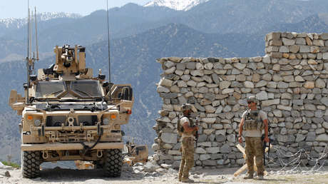 Soldados estadounidenses en Nangarhar, Afganistán, el 15 de abril de 2017