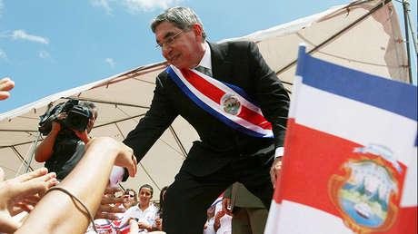 El expresidente de Costa Rica, Oscar Arias, en San José (Costa Rica). 8 de Mayo de 2010.