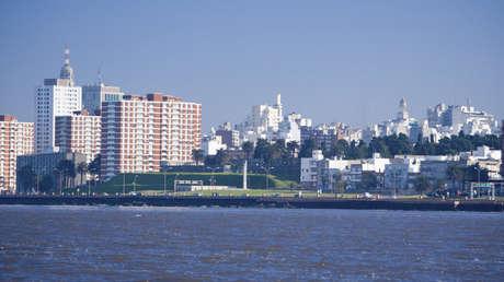 Vista de Montevideo, capital de Uruguay.