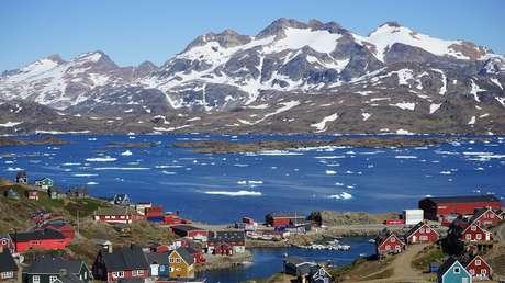 Tasiilaq, una comunidad ubicada en Groenlandia Oriental.