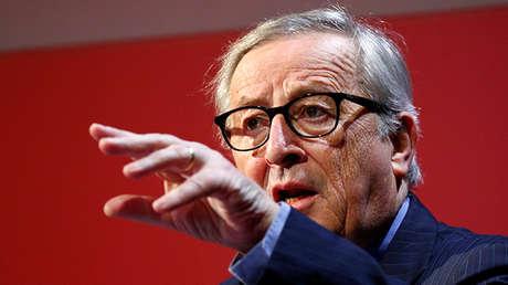 Jean Claude Juncker, presidente de la Comisión Europea.