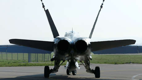 Imagen ilustrativa: A F/A-18C Hornet