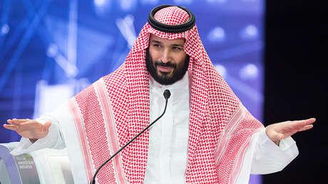 El príncipe heredero saudita, Mohamed bin Salmán