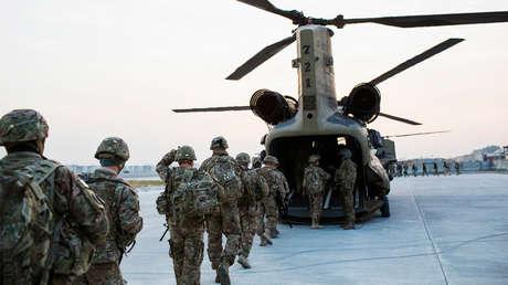 Soldados de Estados Unidos durante una misión en Afganistán, el 21 de diciembre de 2014.