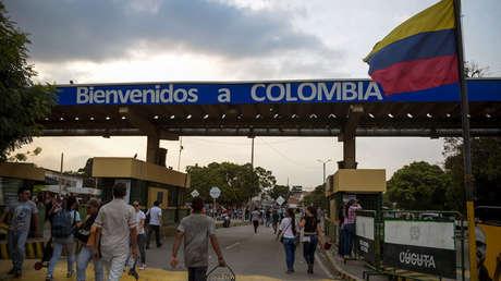 Puente Simón Bolívar, entre Táchira (Venezuela) y Cúcuta (Colombia), 6 de febrero de 2019.