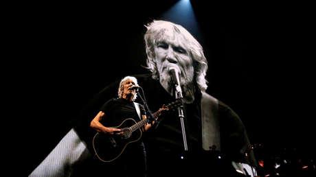 El músico y activista político británico Roger Waters.