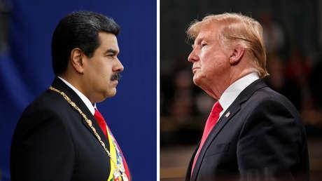 Nicolás Maduro y Donald Trump.