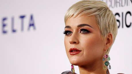 La cantante estadounidense, Katy Perry.