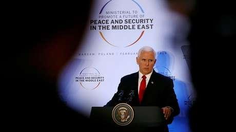 El vicepresidente de EE.UU., Mike Pence