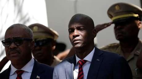 El presidente de Haití, Jovenel Moïse, en Puerto Príncipe, el 27 de marzo de 2018