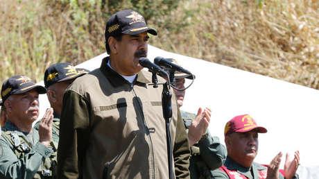 El presidente Nicolás Maduro en Caracas, Venezuela, 1 de febrero de 2019