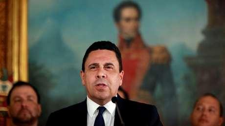 El embajador de Venezuela ante la ONU, Samuel Moncada