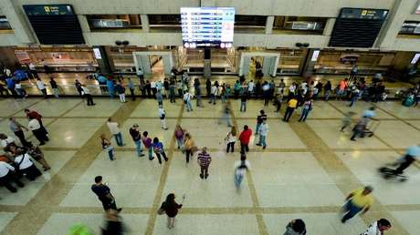 Imagen ilustrativa. El Aeropuerto Internacional de Maiquetía Simón Bolívar, Venezuela. 17 de junio de 2016