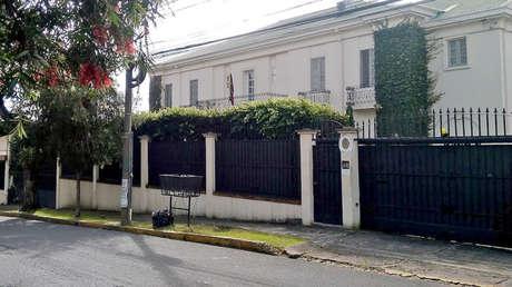 Embajada de la República Bolivariana de Venezuela en Costa Rica.