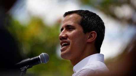 El diputado opositor venezolano Juan Guaidó en Caracas, Venezuela, 16 de febrero de 2019