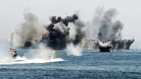 Diferentes naves de la Marina de Irán participarán en esos ejercicios militares.