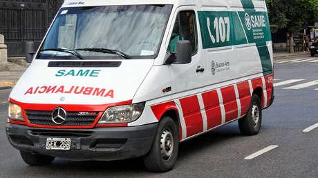Ambulancia en Buenos Aires (Argentina), el 27 de febrero de 2012.