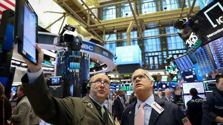 La Bolsa de Nueva York, EE.UU., el 13 de febrero de 2019
