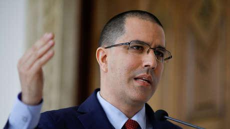 El ministro venezolano de Exteriores, Jorge Arreaza.