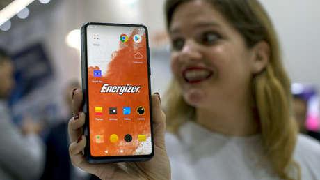Presentación de Energizer Power Max P18K Pop, Barcelona el 26 de febrero de 2019.