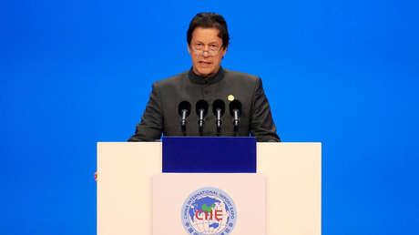 El primer ministro pakistaní Imran Khan, el 5 de noviembre de 2018.