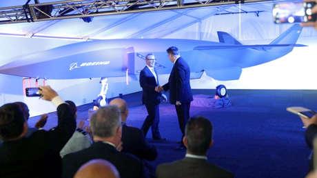 La presentación del proyecto 'Loyal Wingman' en el salón aéreo en Australia.