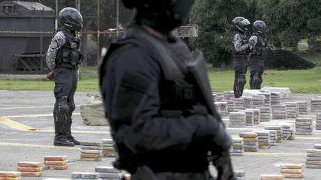 Incautación de drogas en la Ciudad de Panamá, 14 de septiembre de 2015.