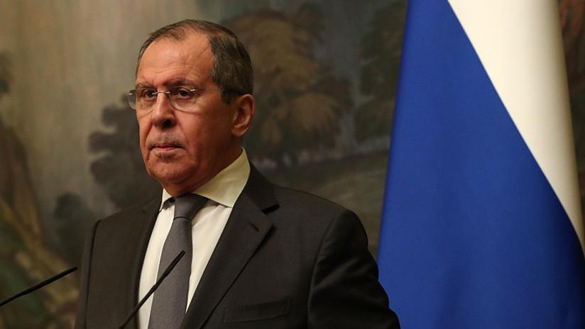 """Lavrov: """"Rusia se opondrá a intentos de intervención descarada en Venezuela"""""""