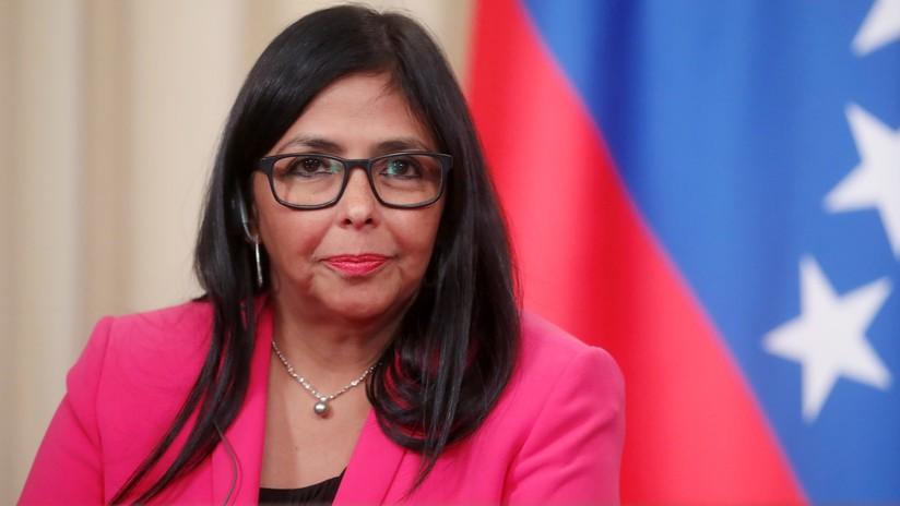 """Delcy Rodríguez: """"Maduro dio instrucciones para trasladar la oficina de PDVSA de Lisboa a Moscú"""""""
