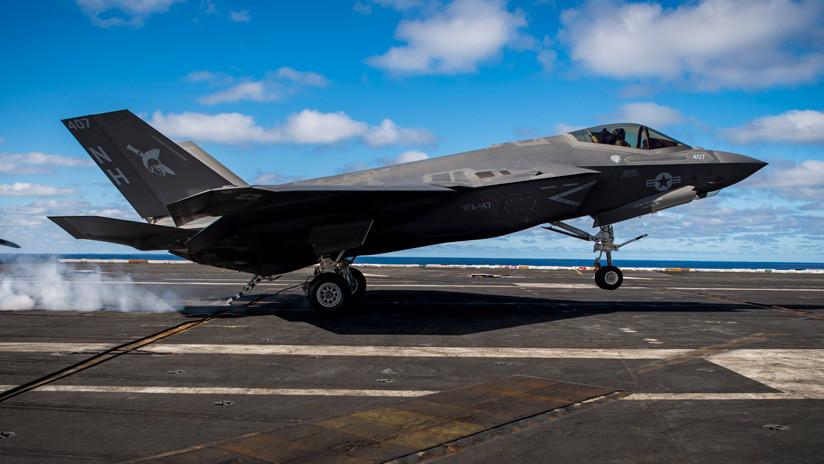 La Armada de EE.UU. declara su caza F-35C listo para el combate