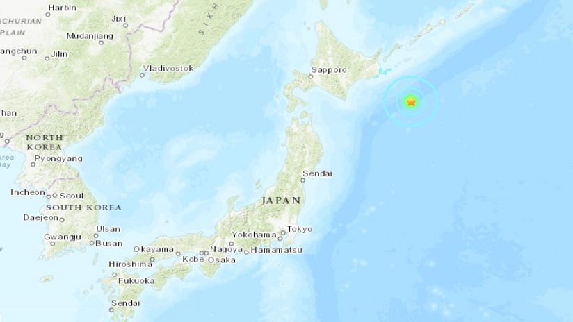 Un sismo de magnitud 6,0 se registra cerca de las costas de Japón