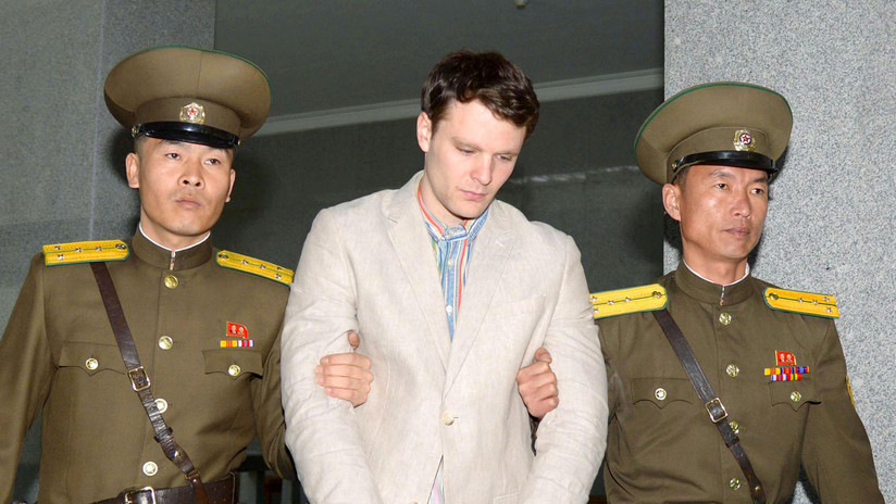 """Trump: """"Está claro que Corea del Norte es responsable de la muerte de Otto Warmbier"""""""