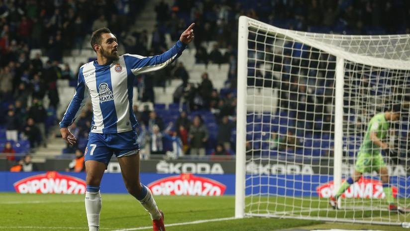 Un delantero del Espanyol marca el gol más rápido en lo que va de Liga