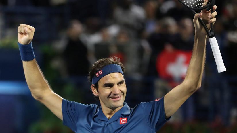Federer gana su torneo número 100 y se convierte en el segundo tenista con más títulos del siglo