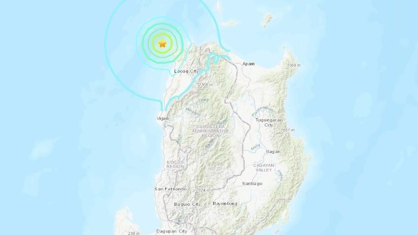 Un sismo de magnitud 5,6 sacude las costas de Filipinas