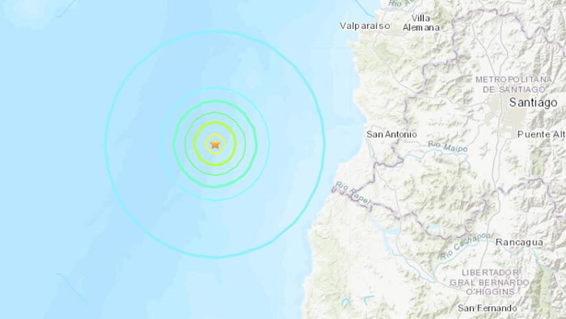 Un sismo de magnitud 5,5 se registra en Chile