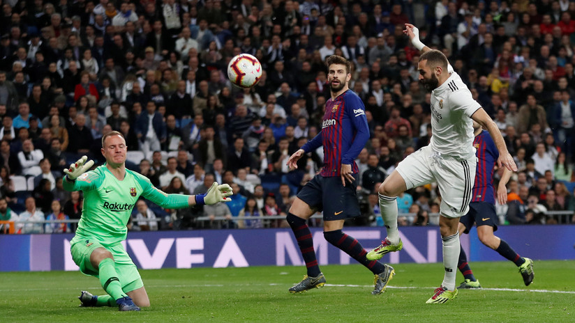 MINUTO a MINUTO: El Real Madrid no logra la revancha ante el Barcelona en La Liga española