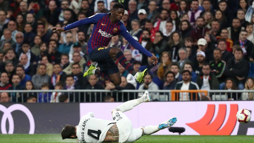 El Barcelona vuelve a someter al Real Madrid en el Bernabéu por La Liga española