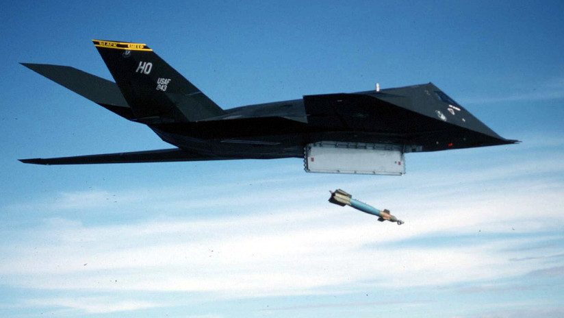Aviones furtivos F-117 de EE.UU. participaron en ataques en Siria, casi 10 años después de haber sido retirados oficialmente