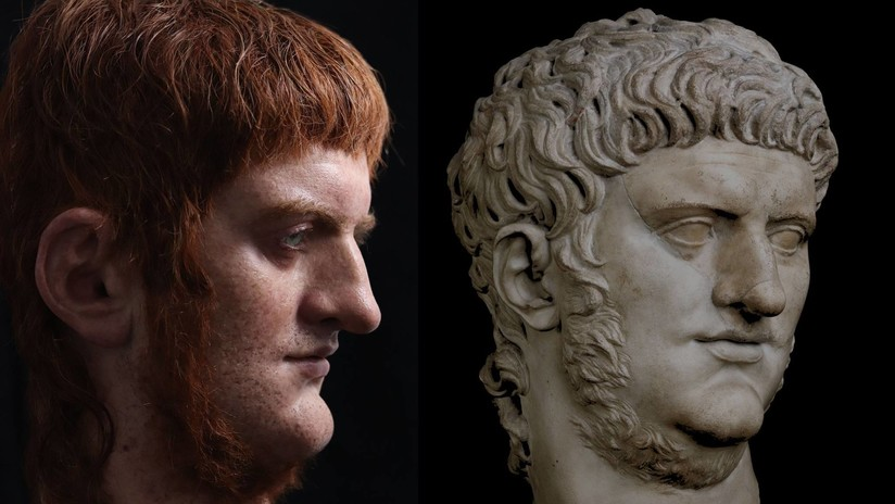 VIDEO: Un artista español crea un busto hiperrealista del emperador Nerón