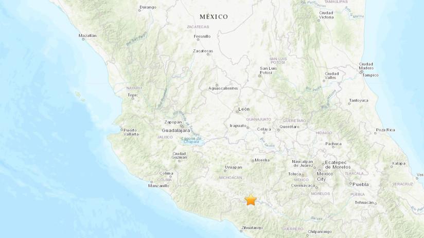Un sismo de magnitud 5,3 se registra en el estado mexicano de Michoacán