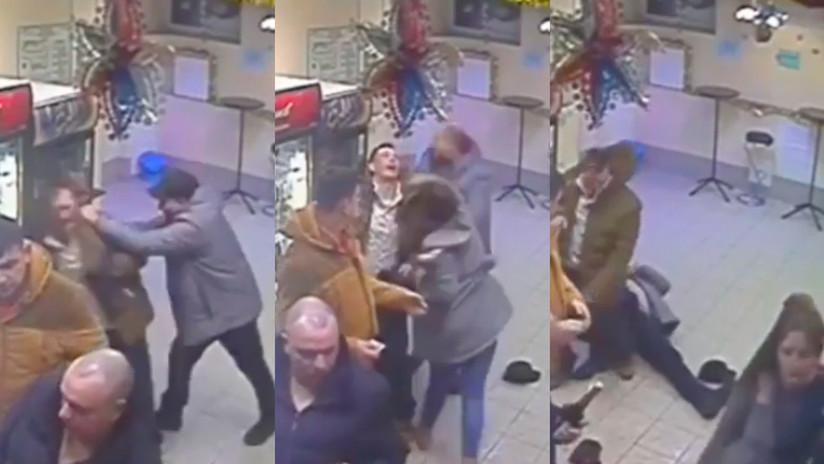 """""""¡No juegues con las rusas!"""": Una dependienta se gana la admiración de una estrella de la UFC con un espectacular nocaut (VIDEO)"""