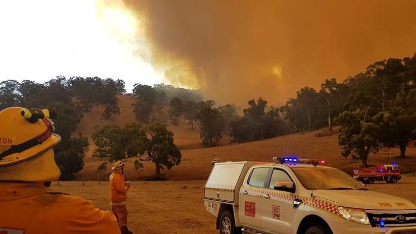 VIDEO, FOTOS: Decenas de incendios asolan varias ciudades en Australia